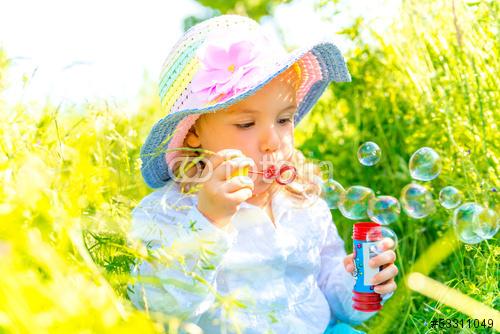 Seifenblasen mit Spülmittel